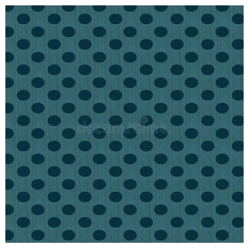 Download Ciemnozielone polek kropki ilustracja wektor. Ilustracja złożonej z stary - 53781727