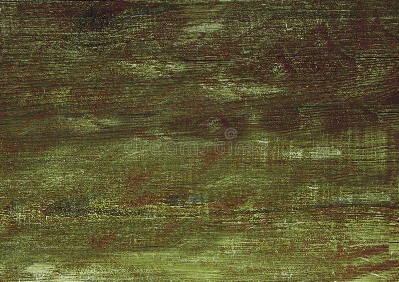 Ciemnozielony drewno Naturalny tekstury tło obraz stock