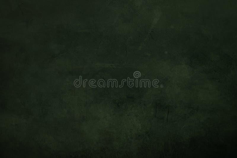 ciemnozielony grungy brezentowy tło fotografia royalty free