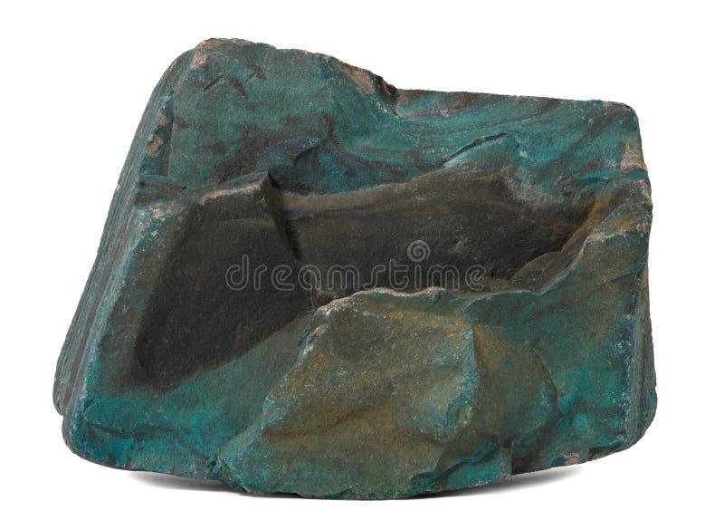 Ciemnozielony Kamień Zdjęcie Royalty Free