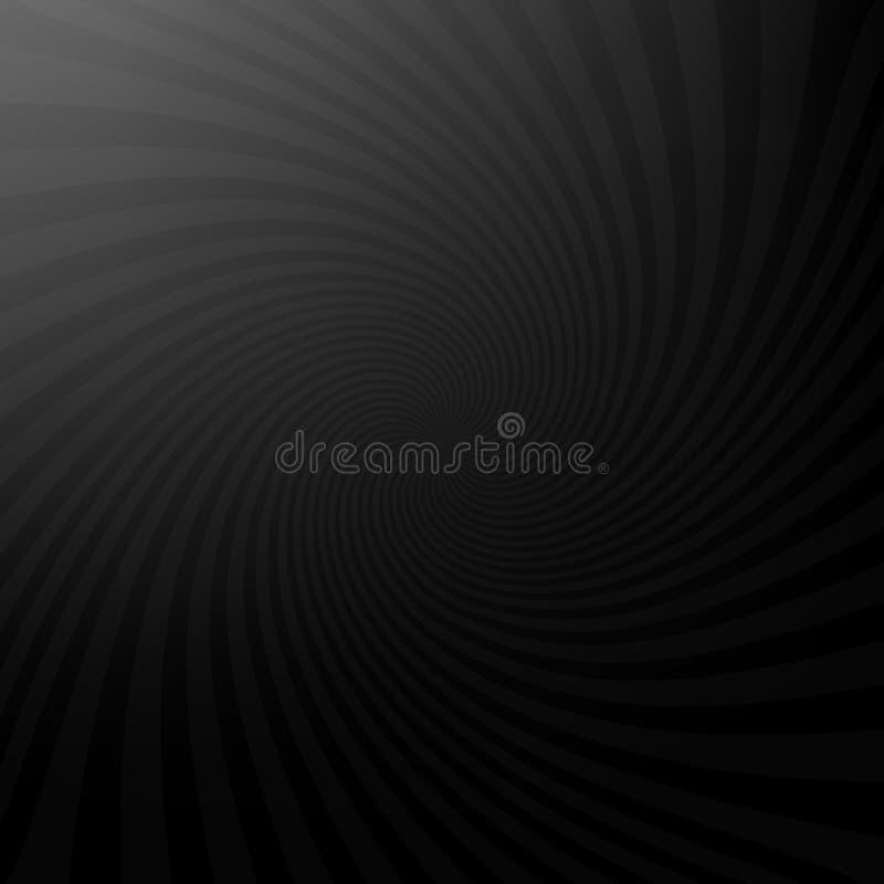 Ciemny abstrakcjonistyczny promienia tło. ilustracja wektor