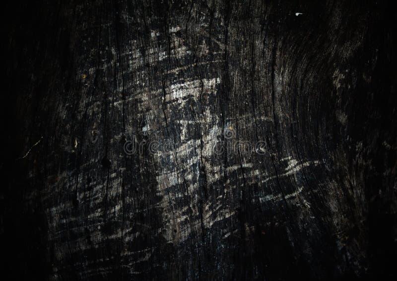 Ciemny drewniany tło royalty ilustracja