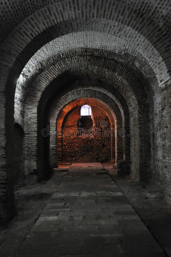 ciemny dungeon fotografia royalty free