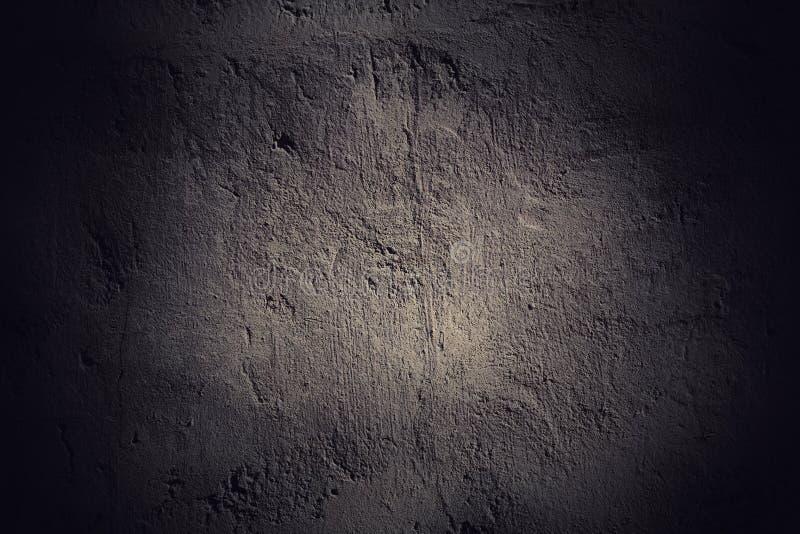 Ciemny grunge ściany tło obrazy stock