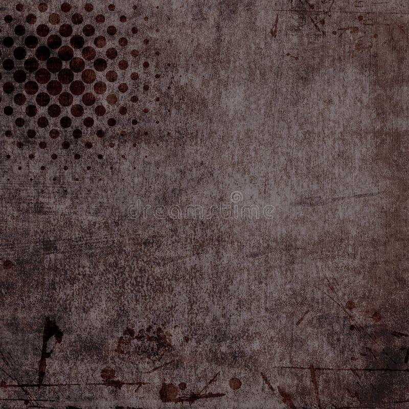 Ciemny Grunge tło royalty ilustracja