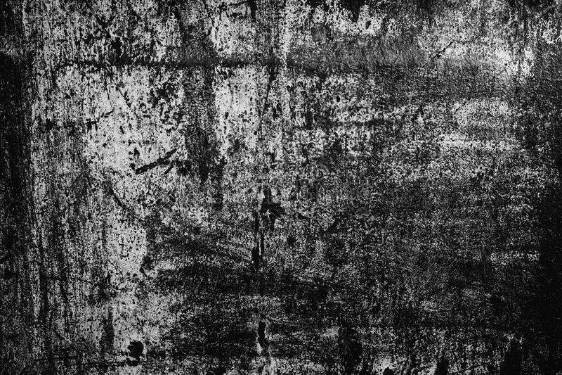 Ciemny grunge tło stara porysowana malująca metal tekstura fotografia stock