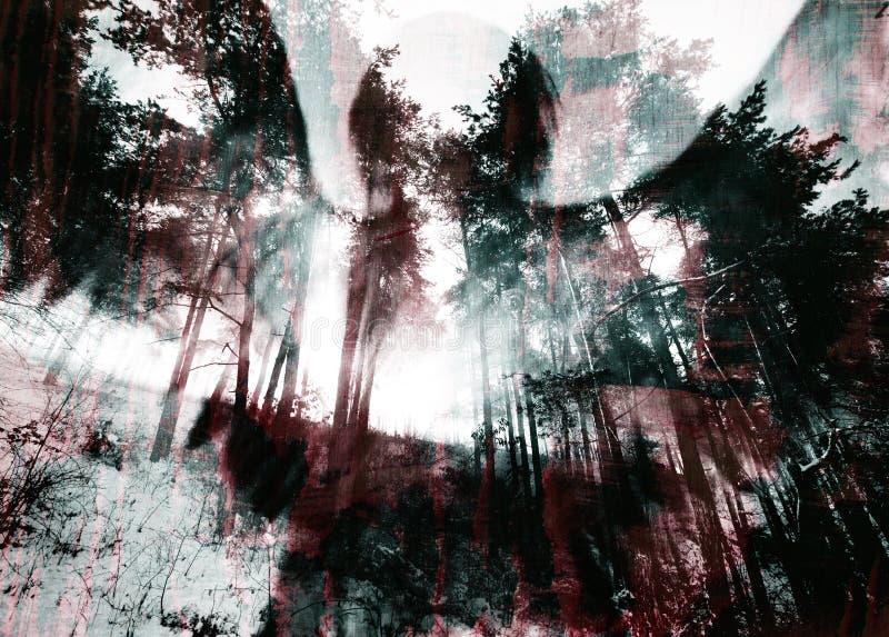 Ciemny Halloween Grunge tekstury Porysowany tło zdjęcie royalty free