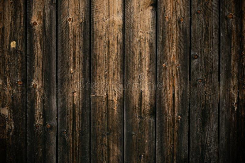 Ciemny kolor żółty i szary podławy drewniany tło Stara ?cienna drewniana rocznik pod?oga tekstury t?o Szorstka struktura Czarny k obraz stock