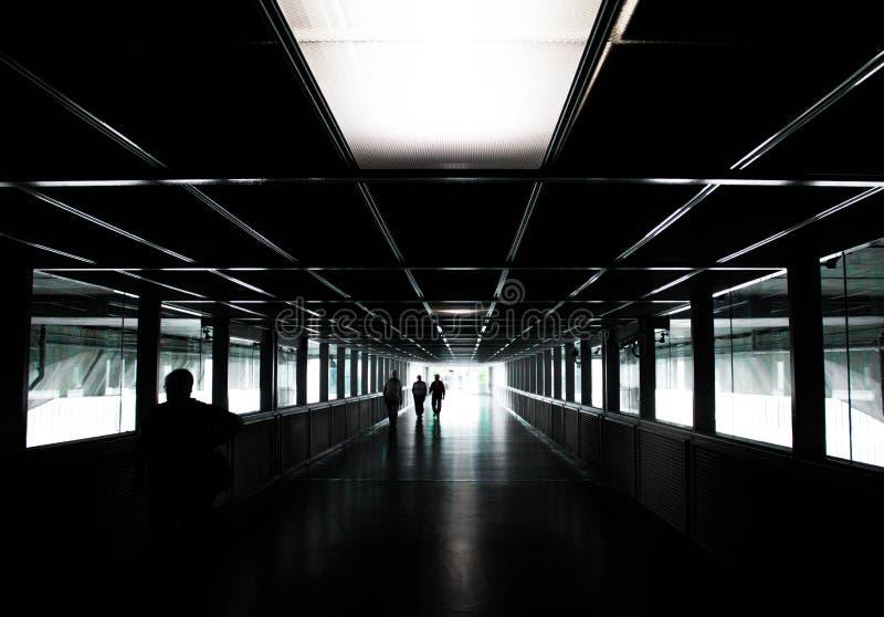 ciemny korytarz obraz stock