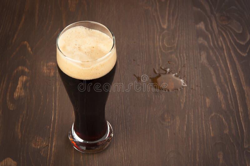 Ciemny piwo obraz royalty free