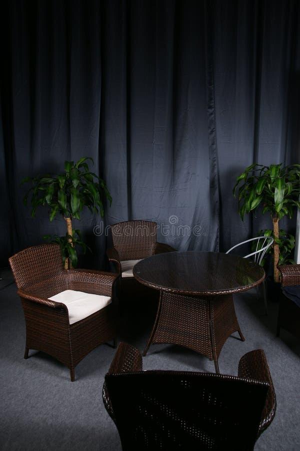 Ciemny pokój fotografia stock