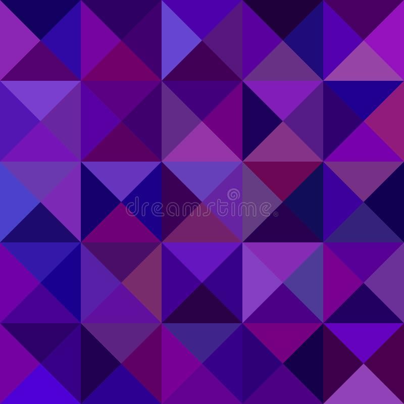 Ciemny purpurowy abstrakcjonistyczny trójbok mozaiki wzoru tło - wektorowa grafika od trójboków ilustracja wektor