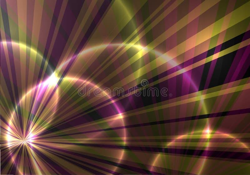 ciemny tło z promieniami obraz royalty free