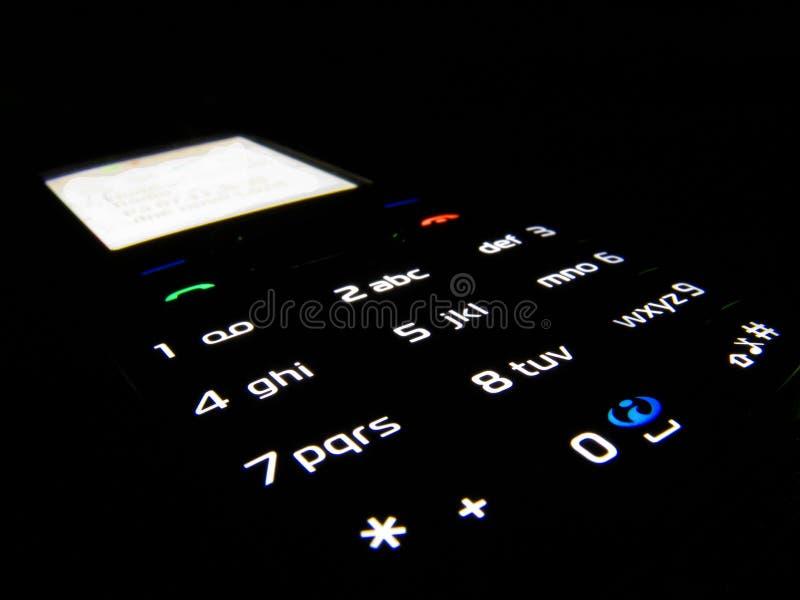 ciemny telefon obrazy royalty free