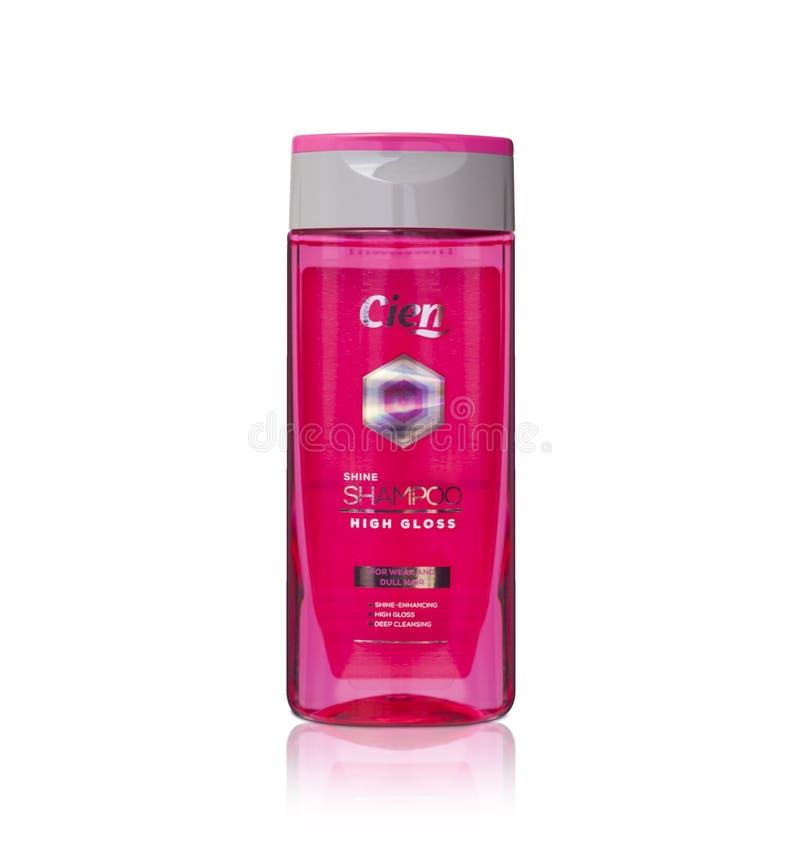 Cien połysku szamponu wytwórca Niemcy obraz stock