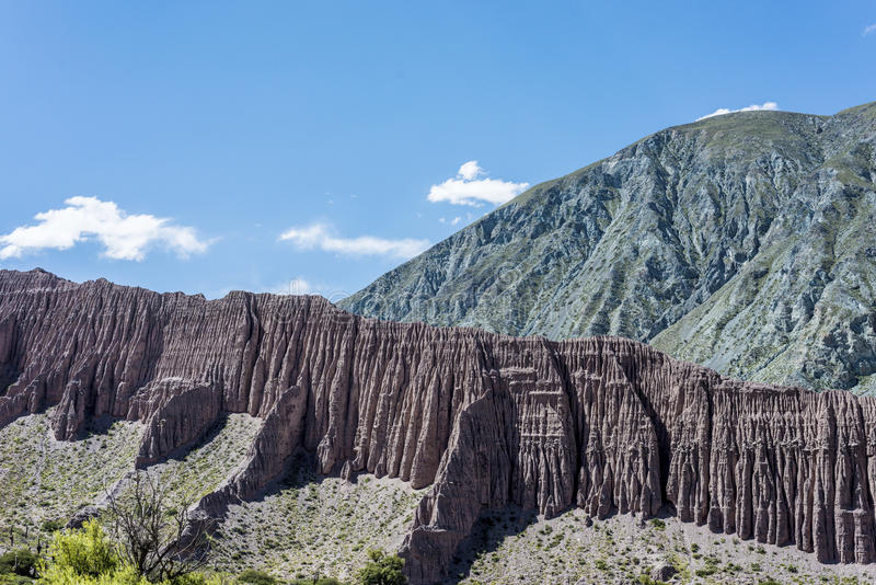 Cienaga Quebrada de Humahuaca, Jujuy, Argentina. arkivfoto