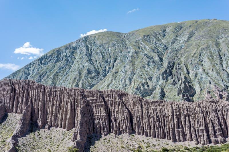 Cienaga Quebrada de Humahuaca, Jujuy, Argentina arkivbilder
