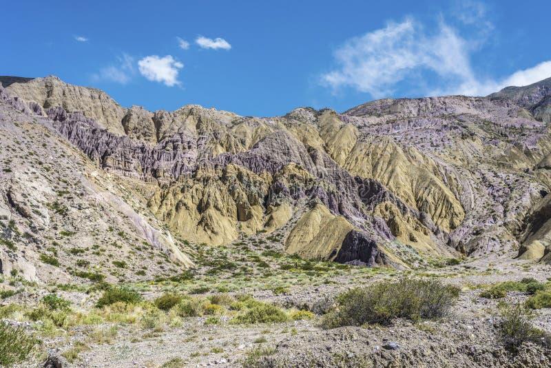 Cienaga, Quebrada de Humahuaca, Jujuy, la Argentina. imágenes de archivo libres de regalías