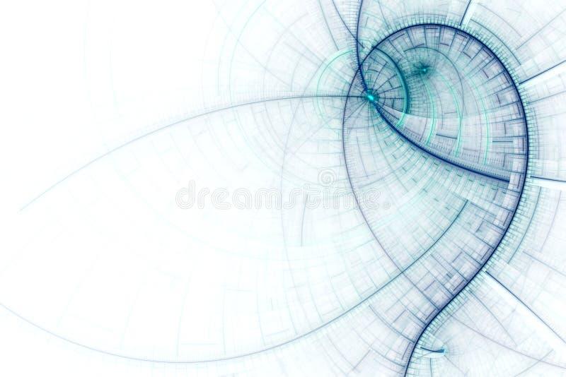 Ciencia del asunto o fondo abstracta de la tecnología ilustración del vector