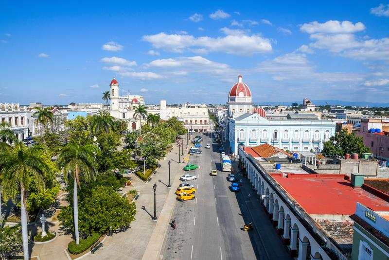 Cienfuegos, Cuba photos stock
