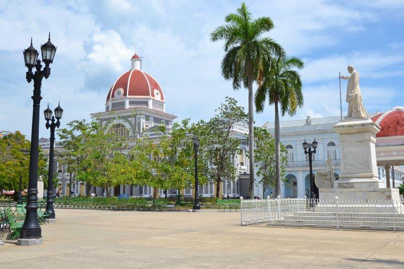Cienfuegos Parque Jose Marti fotografia royalty free