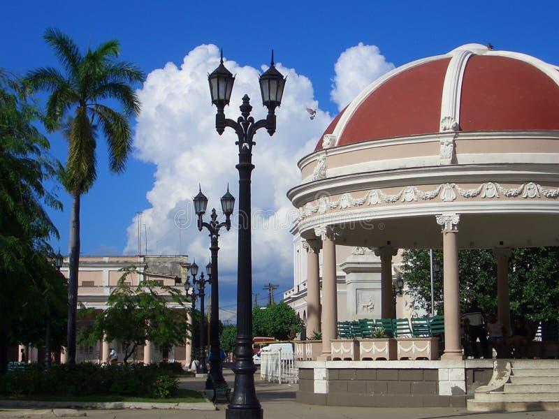 Cienfuegos Square royalty free stock photo
