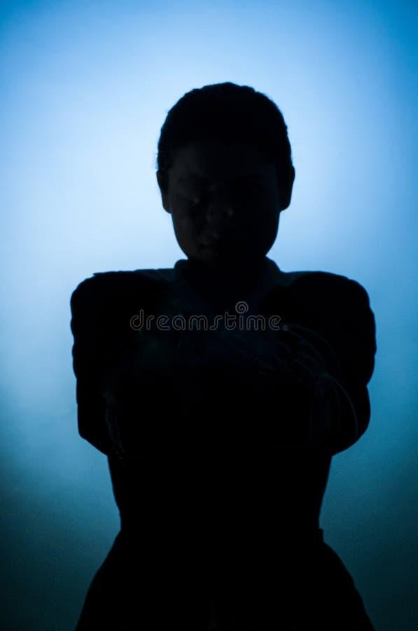 cienia szpieg zdjęcia royalty free