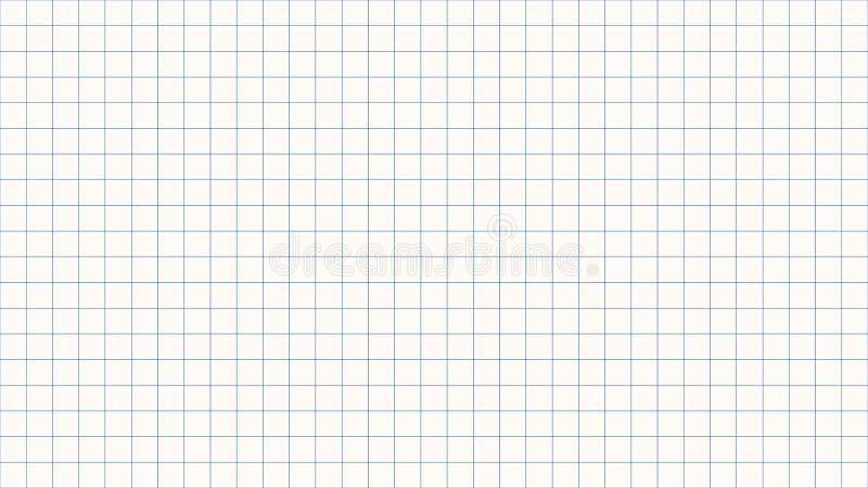 Cienki kreskowy czek nad białym tłem ilustracji