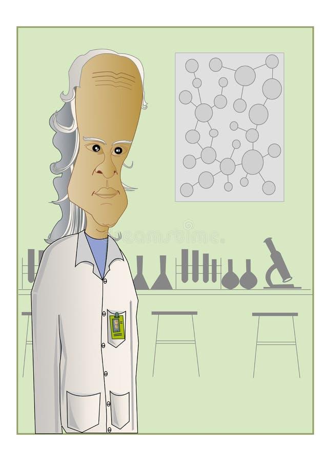 Científico stock de ilustración