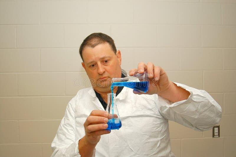 Científico forense. foto de archivo