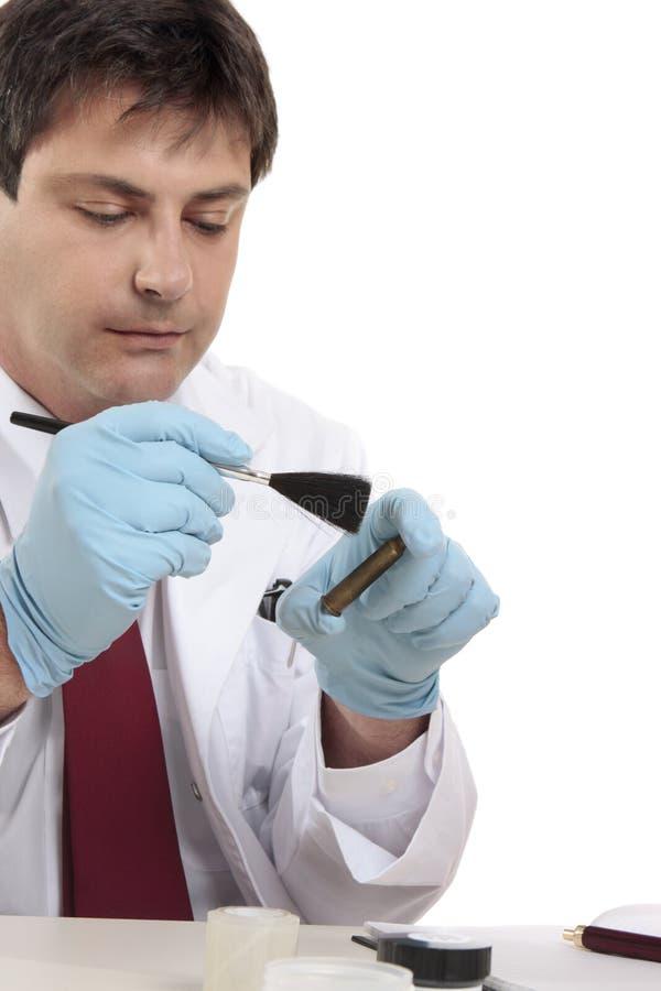 Científico forense imágenes de archivo libres de regalías