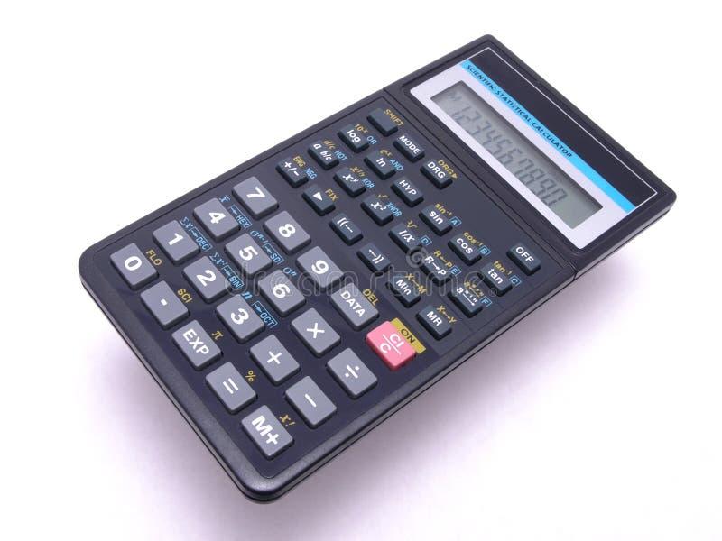 Científico-Stat calculadora 1 foto de stock royalty free