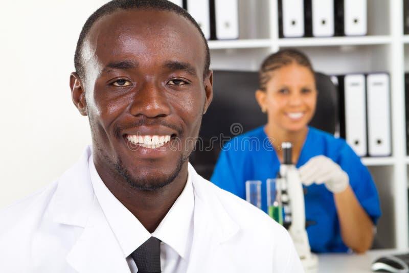 Científicos afroamericanos fotos de archivo