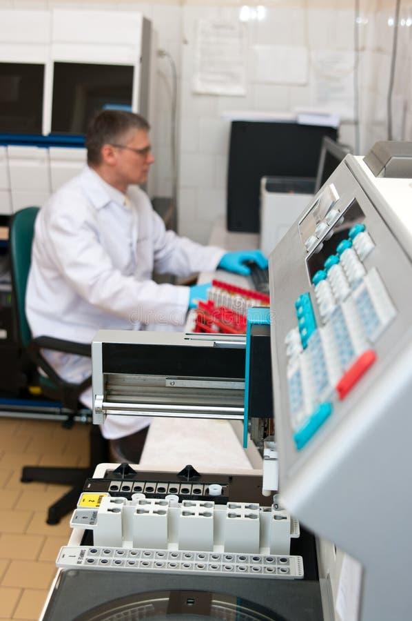 Cientista do laboratório imagem de stock