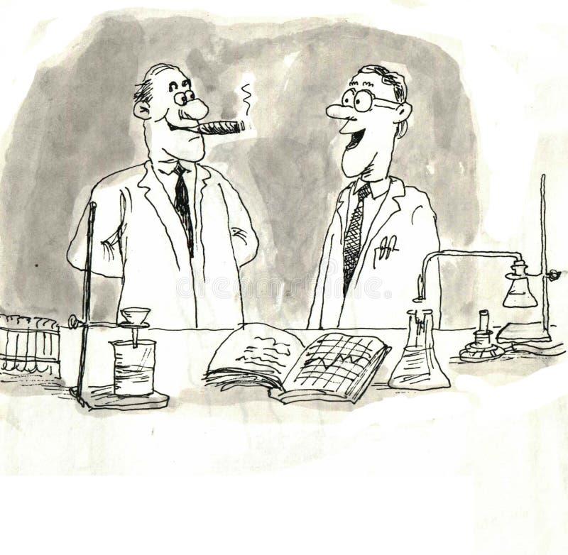 Cientistas ilustração do vetor