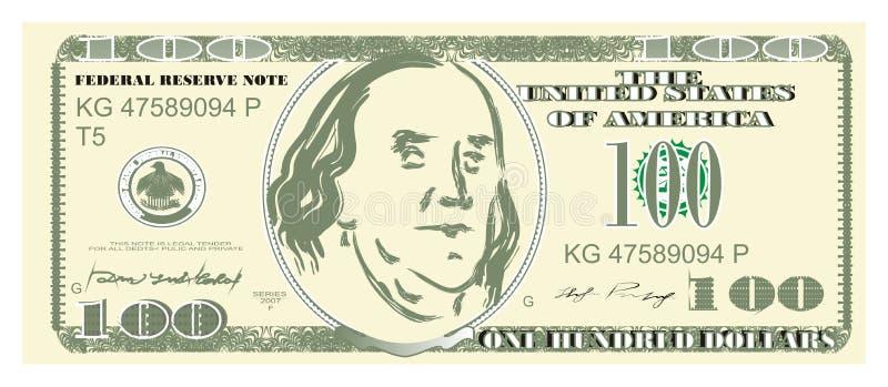 Cientos dólares libre illustration