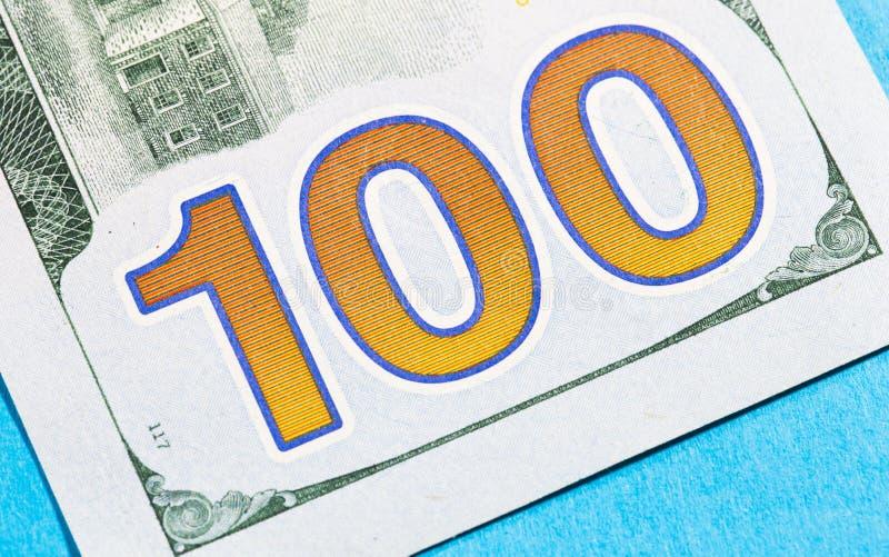 Cientos dólares Bill imagenes de archivo