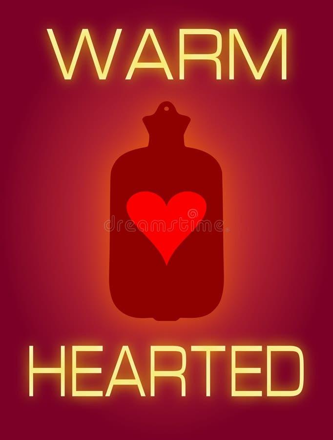 Ciepły Hearted ilustracja wektor