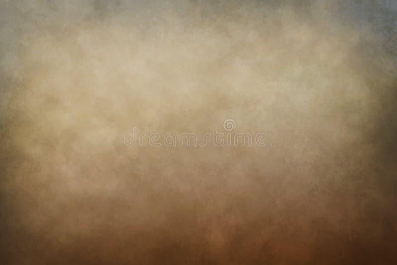 Ciepły tło z gradientowymi kolorami royalty ilustracja