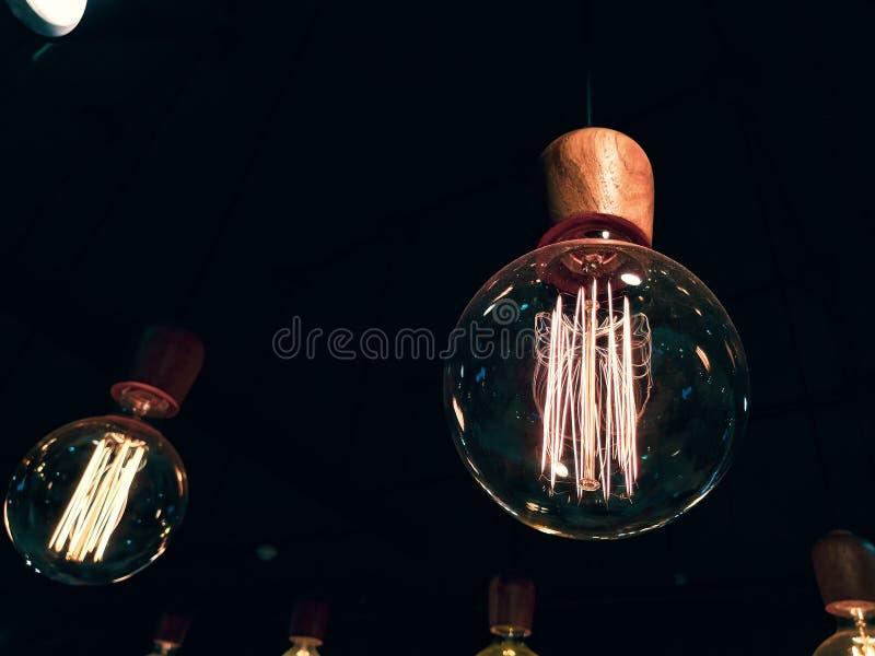 Ciepli lightbulbs obraz stock