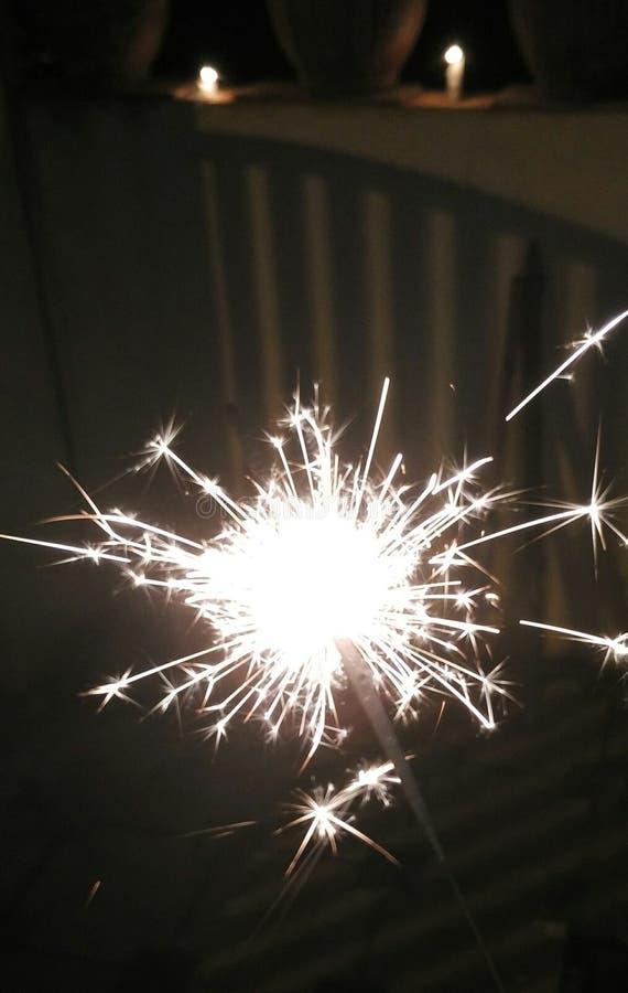Cierge magique de Diwali photo libre de droits