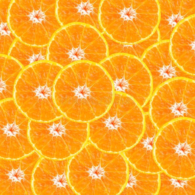 Cierre anaranjado del fondo de la textura de la rebanada para arriba fotos de archivo