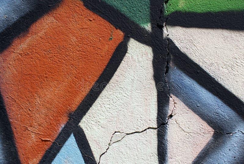 Cierre colorido encima de la textura de la pared del yeso para los fondos y las texturas interesantes fotografía de archivo libre de regalías
