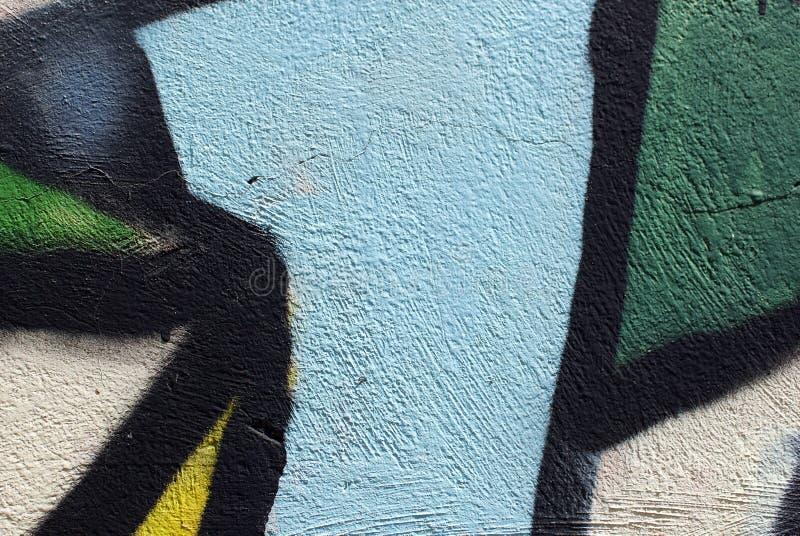 Cierre colorido encima de la textura de la pared del yeso para los fondos y las texturas interesantes imagen de archivo libre de regalías