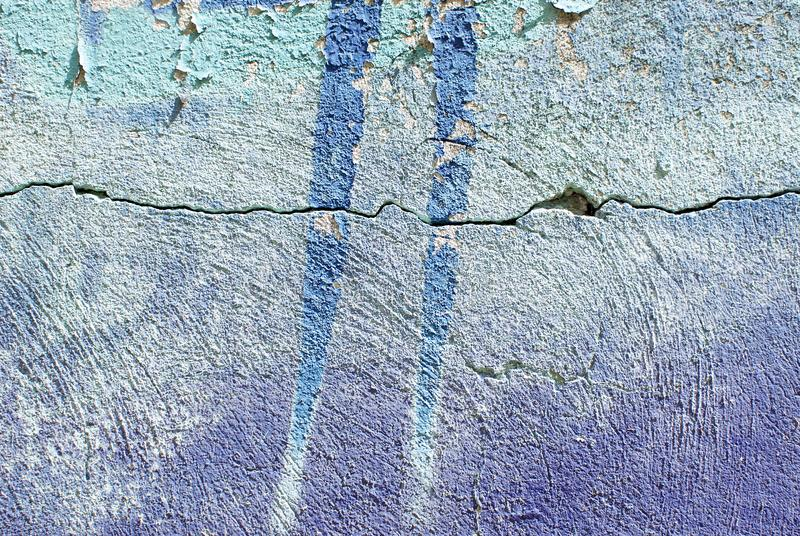 Cierre colorido encima de la textura de la pared del yeso para los fondos y las texturas interesantes fotos de archivo