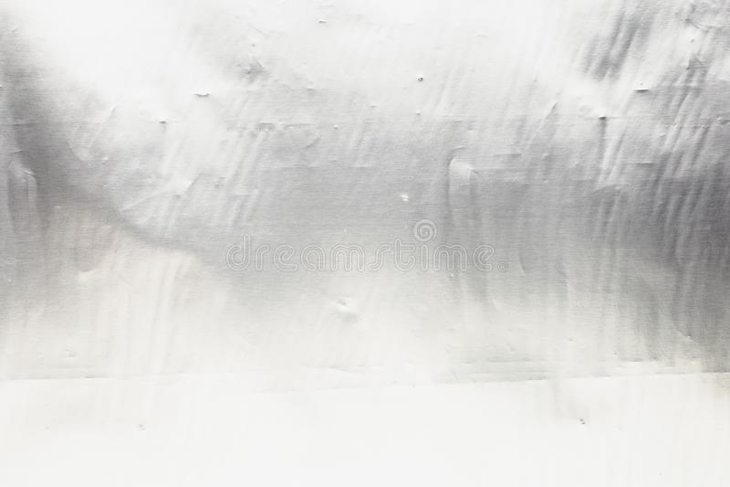 Cierre de acero de plata de la textura de la hoja del metal para arriba, fondo brillante del cromo foto de archivo