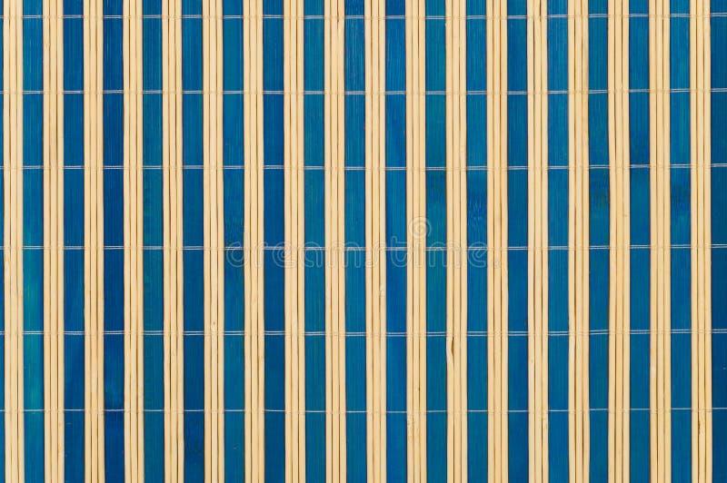 Cierre de bambú de la estera para arriba imagen de archivo libre de regalías