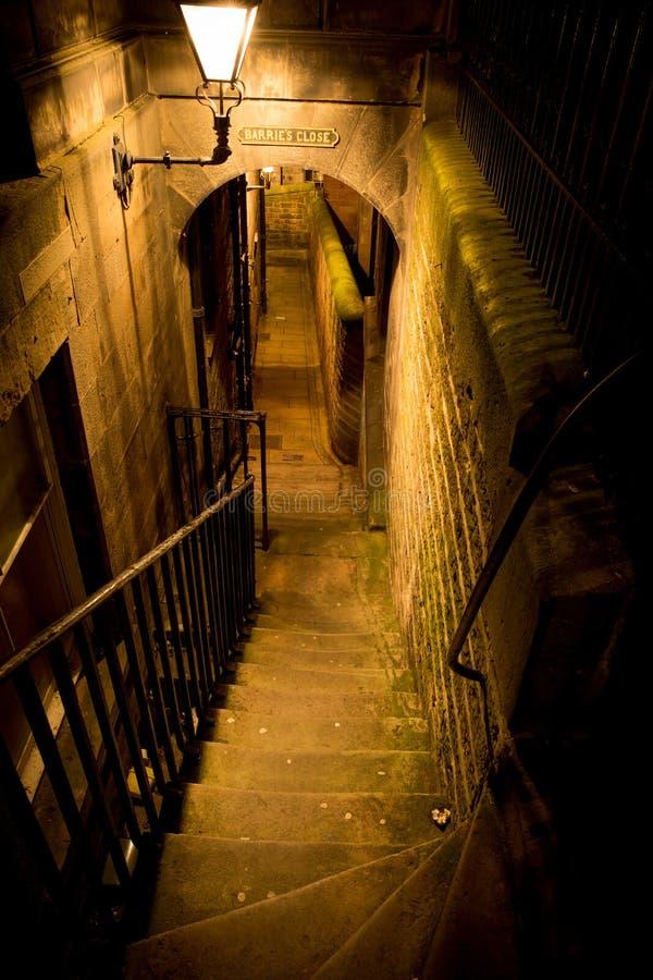 Cierre de Edimburgo imagen de archivo libre de regalías