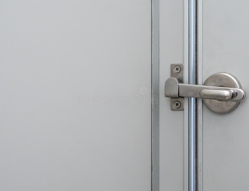 Cierre de la cerradura del metal con el espacio de la copia imagen de archivo