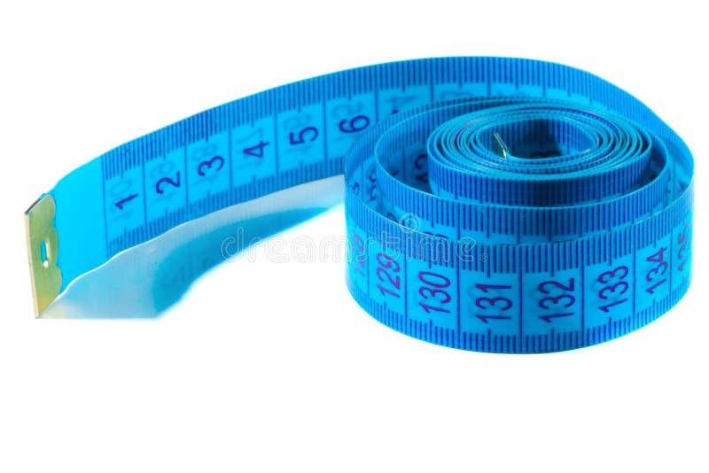 Cierre de la cinta métrica - para arriba foto de archivo libre de regalías
